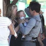 Anna Paquin and Stephen Moyer Show Off Their Sweet Twins