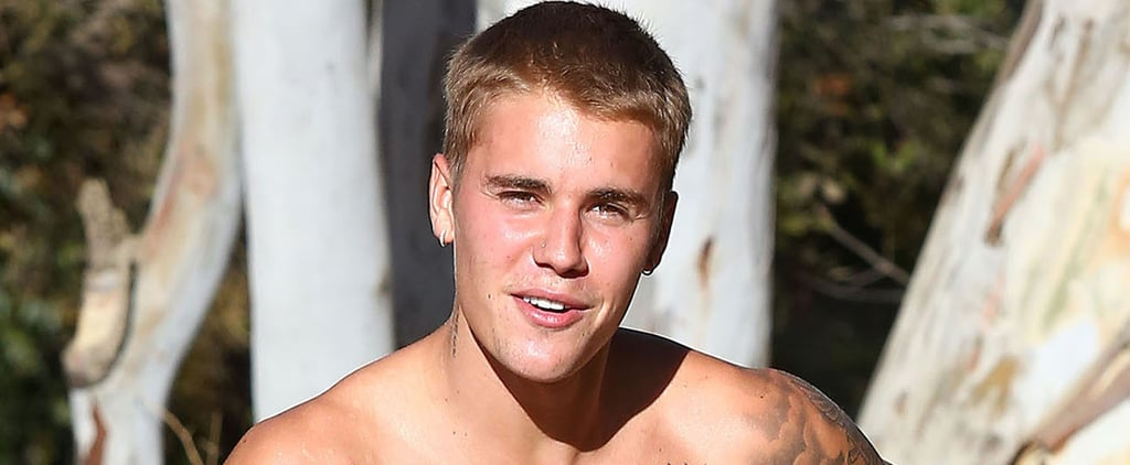 Justin Bieber Goes For Another Shirtless Hike Before Hitting the Road Again