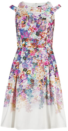 M&S Collection bloom print dress (£59)