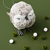 Puffy Owl Ornament