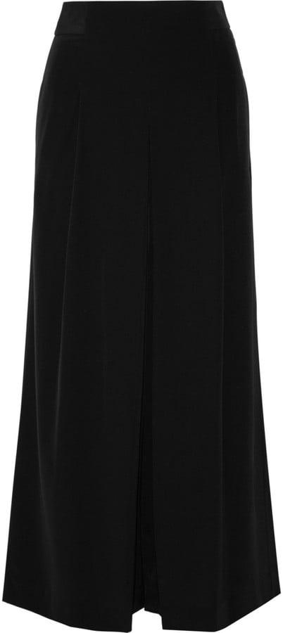 Tibi Pleated Silk Culottes ($525)