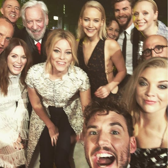 Cute Hunger Games Cast Selfie 2015
