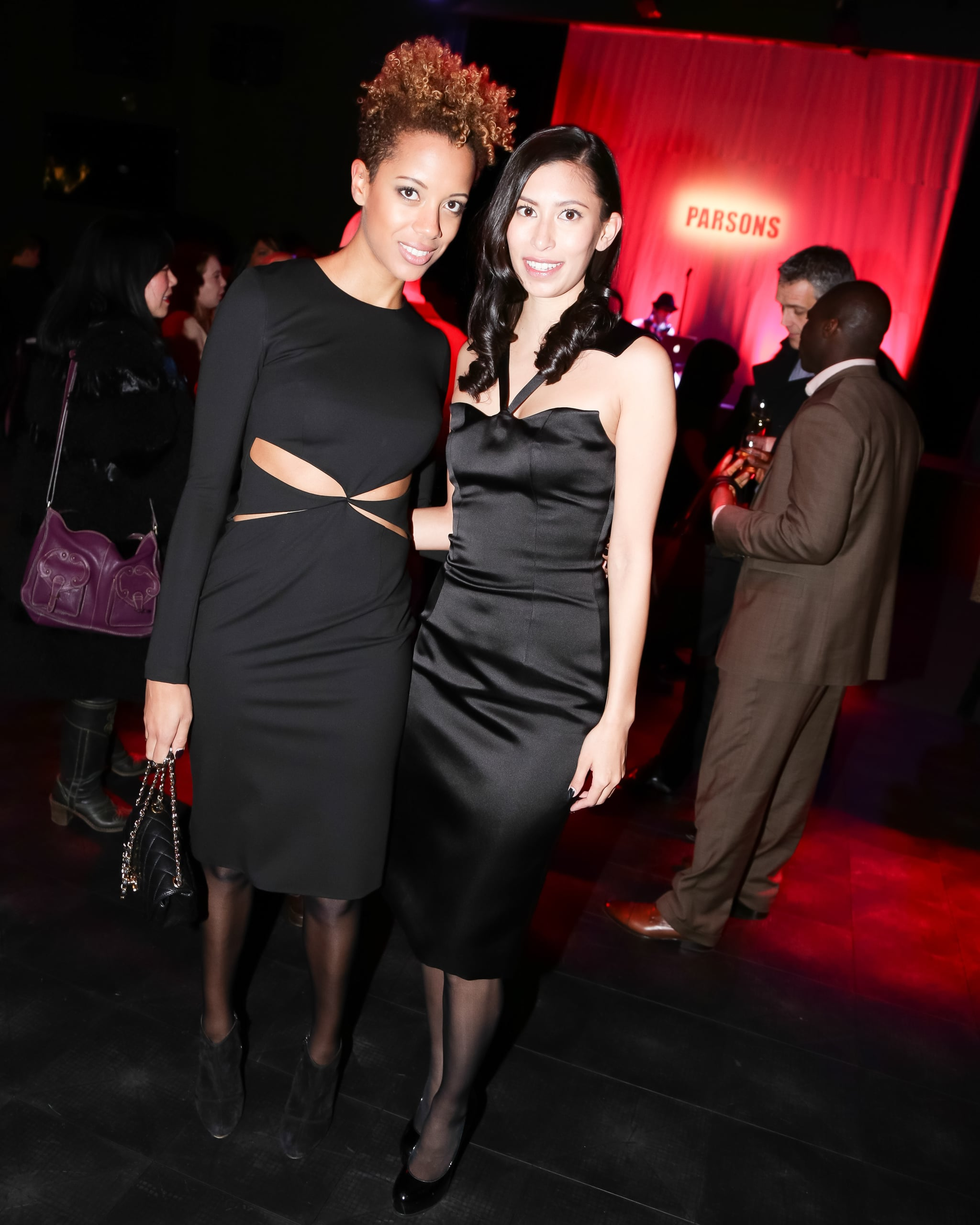 Carly Cushnie and Michelle Ochs at the Parsons 560 Farewell Event.
