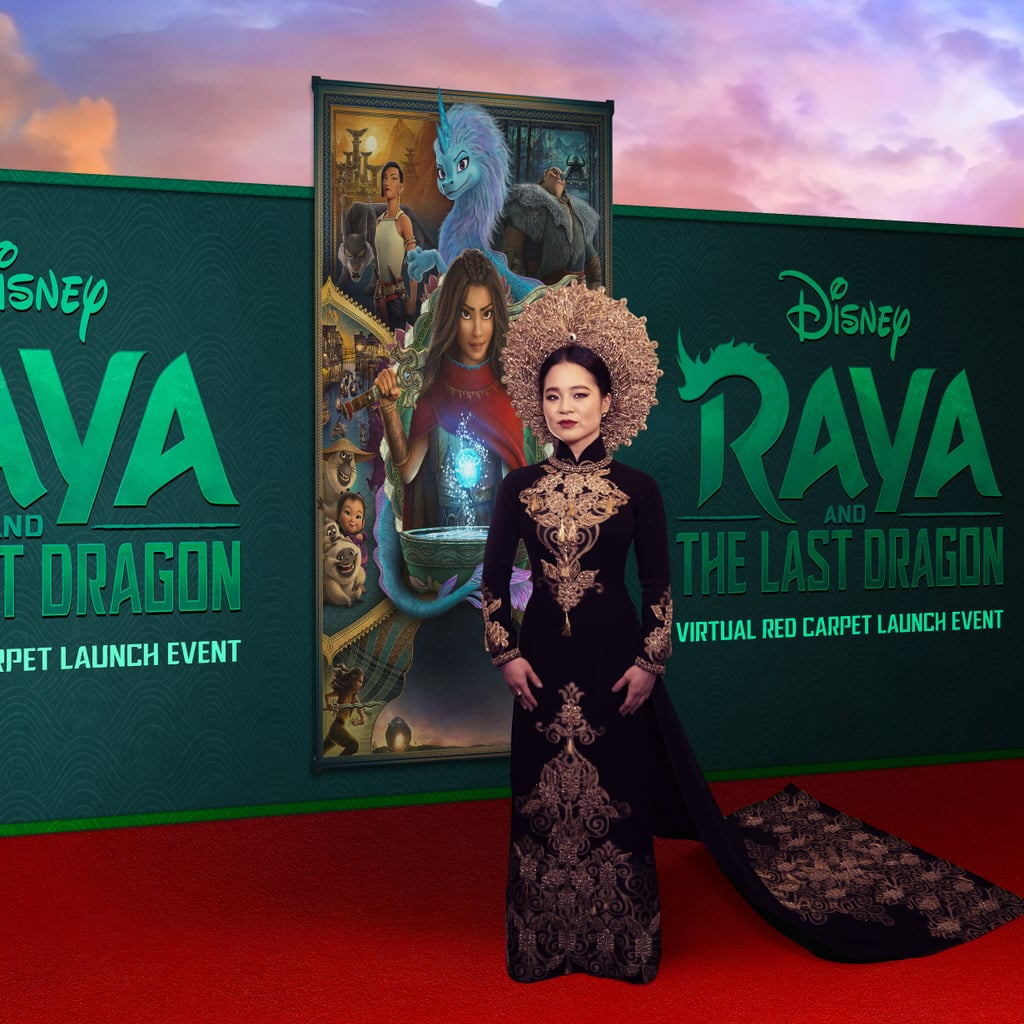 Kelly Marie Tran's Raya and the Last Dragon Premiere Dress