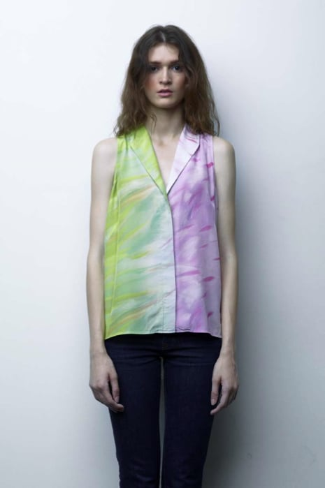 Jeunesse Brings a Youthful Soul to the Classic Silk Blouse For Spring '13