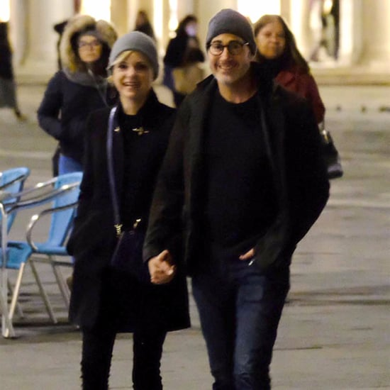 Anna Faris and Michael Barrett in Italy Pictures Nov. 2017