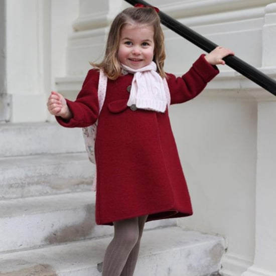Princess Charlotte's First Day of Nursery School