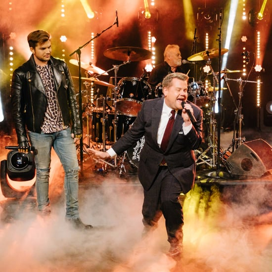 James Corden and Adam Lambert Sing-Off With Queen Video 2017