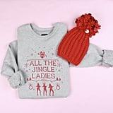 All the Jingle Ladies Adult Sweatshirt