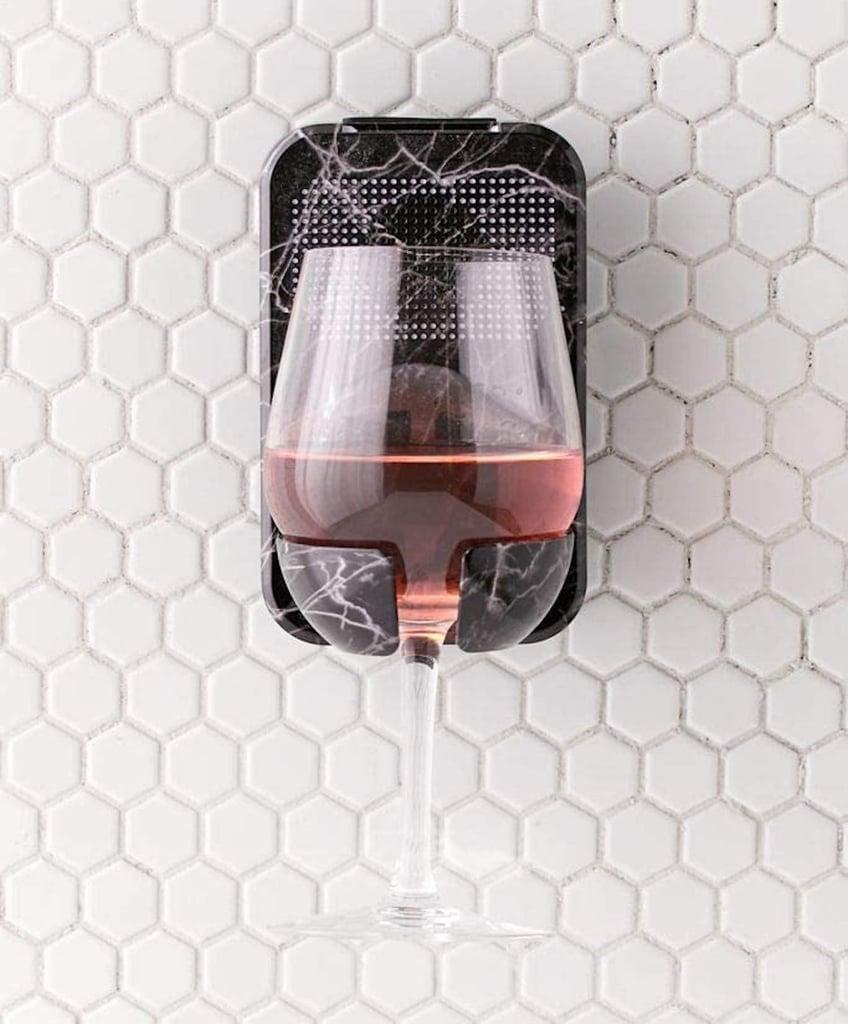 Shower Wine Glass Holder and Speaker on Amazon | 2020