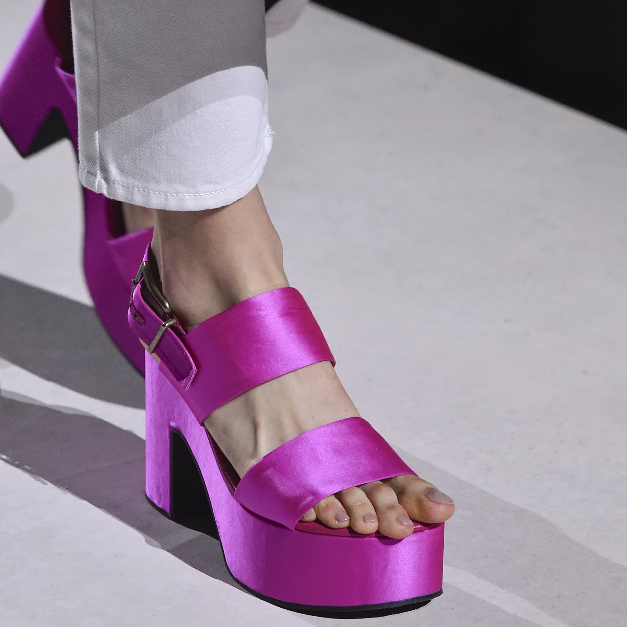 Shoe Trends Spring 2020.The Best Shoes From Fashion Week Spring 2020 Popsugar Fashion
