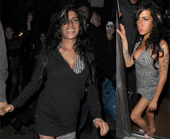 Pictures of Amy Winehouse Out in Soho
