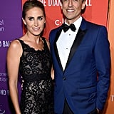 Alexi Ashe and Seth Meyers at the 2019 Diamond Ball