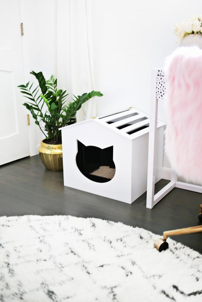 DIY Litter Box Cover