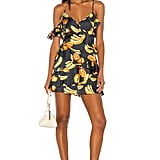 Song of Style Sloane Mini Dress in Black Fruit from Revolve.com