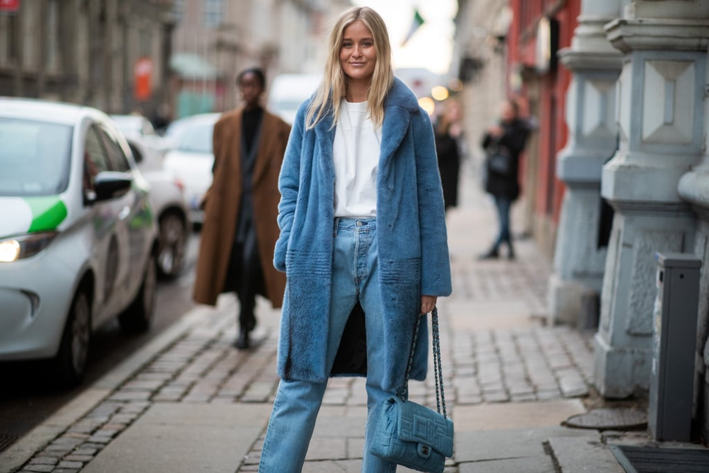 Style Your Baby Blues With a Matching Coat