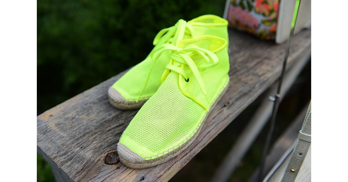 Check out these neoprene espadrilles — just the thing to ...