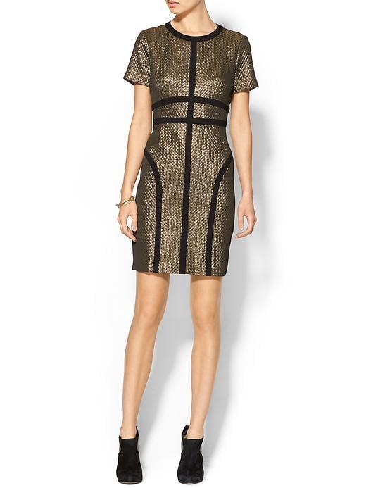 Pim + Larkin Metallic Dress
