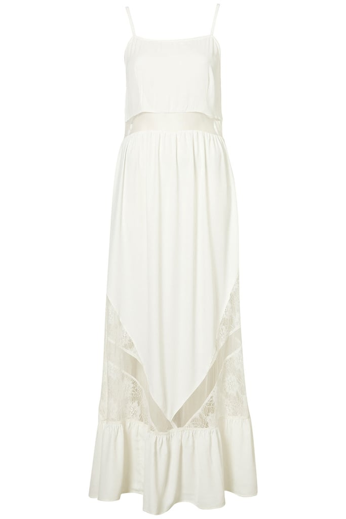 Topshop Lace Panel Maxi Dress ($100)
