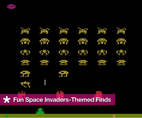 Space Invaders- Themed Finds