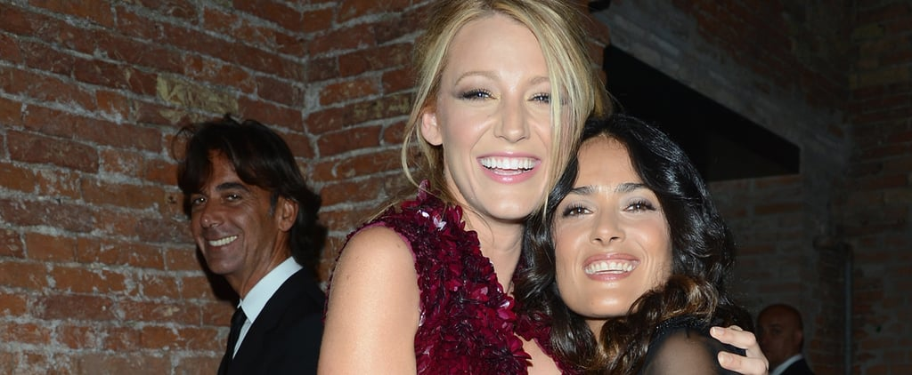 Blake Lively and Salma Hayek's Girls' Night Out on Instagram