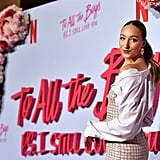 Ava Michelle at the P.S. I Still Love You Premiere in LA