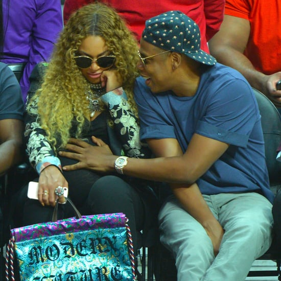 Beyonce and Jay Z at LA Clippers Game April 2017