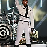 On Tuesday, Janelle Monáe performed at VH1's Super Bowl Blitz concert.