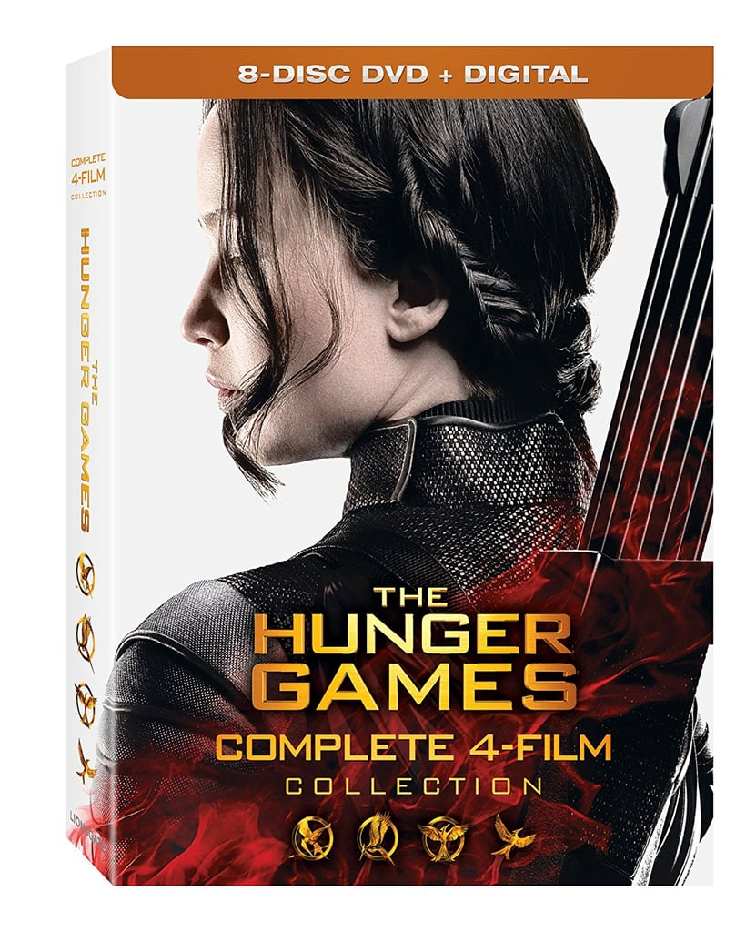 The Hunger Games: Complete 4 Film Collection DVD Set ($35)