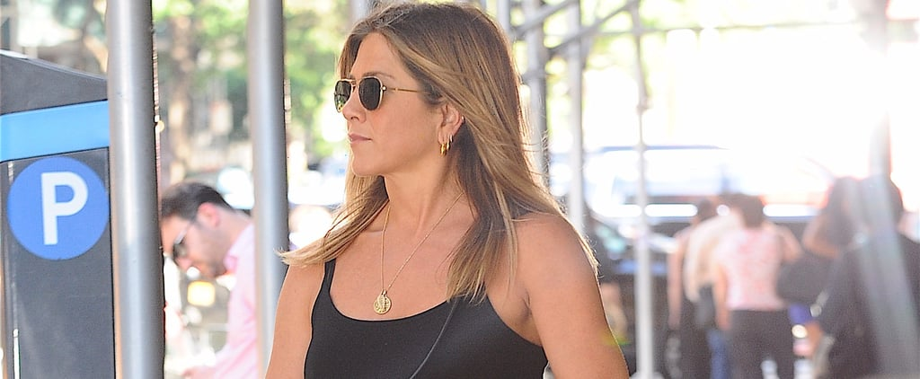 Jennifer Aniston's Summer Shoe Lineup Is Beyond Practical