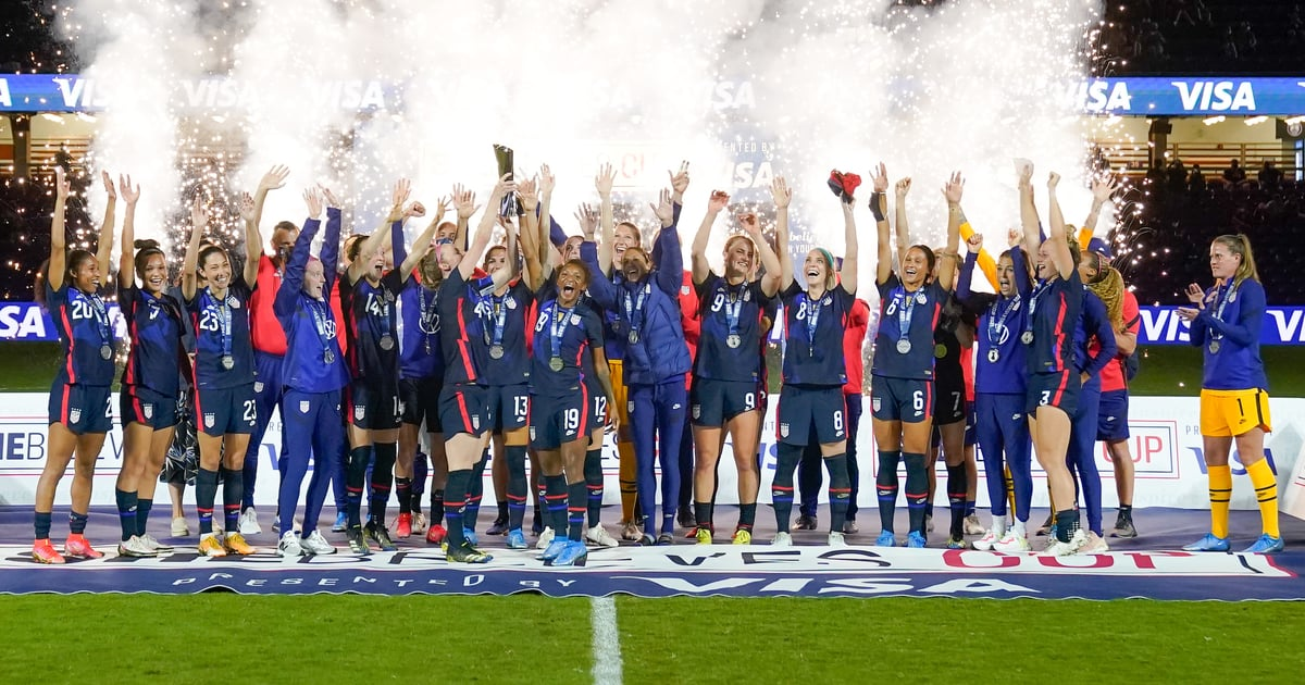 The USWNT Just Won Its 4th SheBelieves Cup — See Some Awesome Highlights From the Final