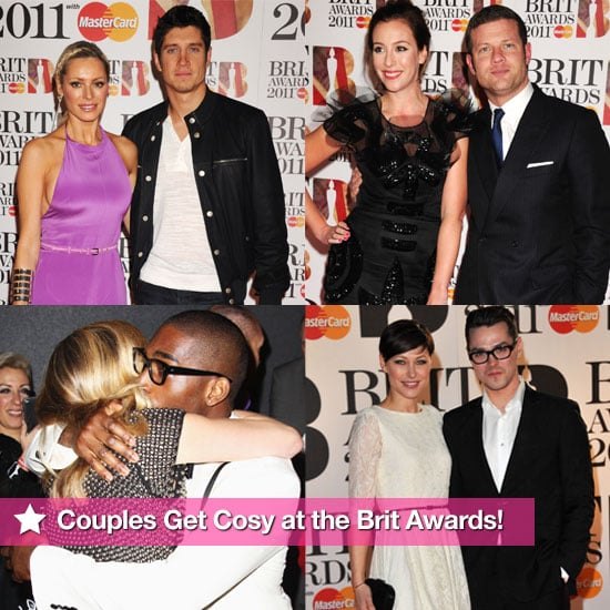 Pictures of all the Couples on the Brit Awards Red Carpet 2011