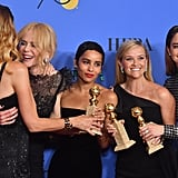 The Cast of Big Little Lies at the 2018 Golden Globes