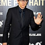 Ben Stiller continued to perfect Blue Steel ahead of the Zoolander sequel when he attended a very stylish dinner in Rome on Saturday.