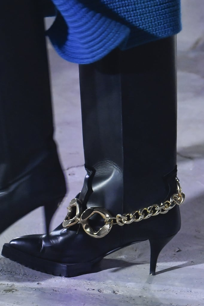 Fall Shoe Trends 2020: Chain Accents