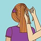 Step 3: Start a French Braid