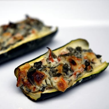 Healthy Recipe For Stuffed Zucchinis