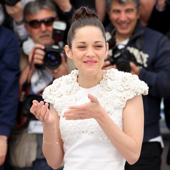 Marion Cotillard Crying at 2013 Cannes Film Festival