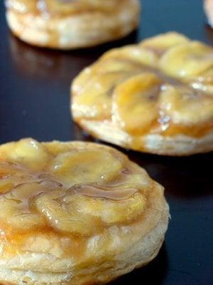 Yummy Link: Bananas Foster Tartelette