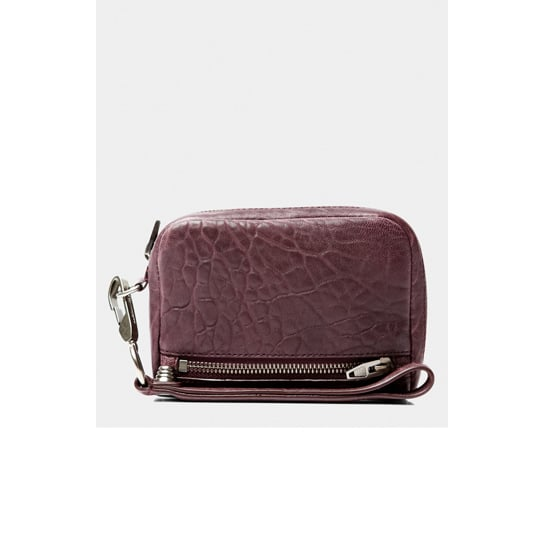 Clutch, $195, Alexander Wang at Green With Envy