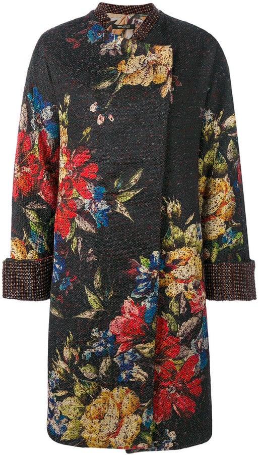 Ermanno Gallamini Floral Coat