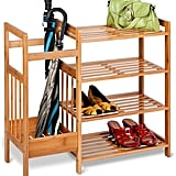 Honey-Can-Do 4-Tier Bamboo Entryway Organiser