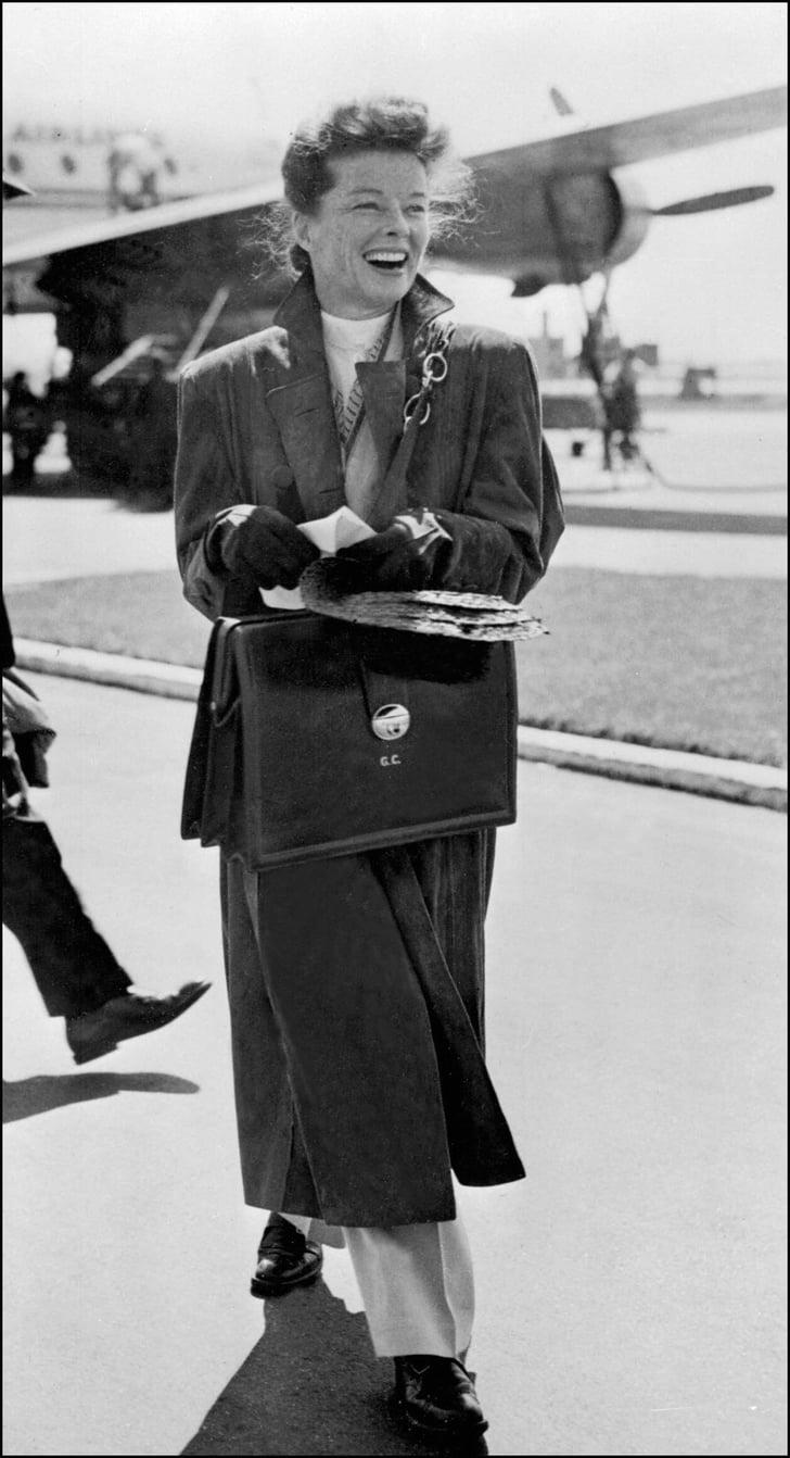 Katharine Hepburn Classic Style Icons For Fall Popsugar Fashion Photo 9