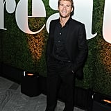 Scott Eastwood sported some scruff at the Treats! Magazine party.