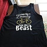 """""""Look Like a Beauty"""" Cycle Tank"""