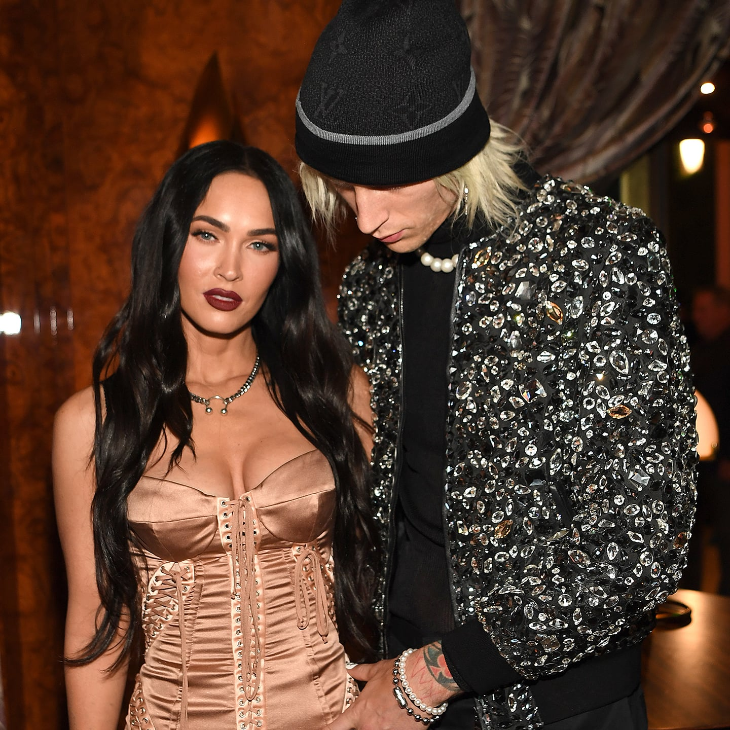 Megan Fox and Machine Gun Kelly in one of the event together
