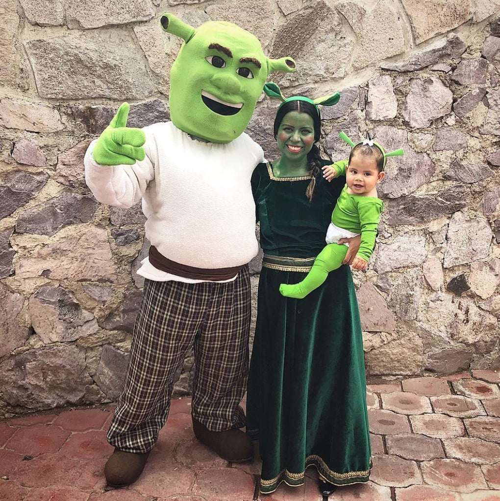 Shrek, Fiona, and Felicia