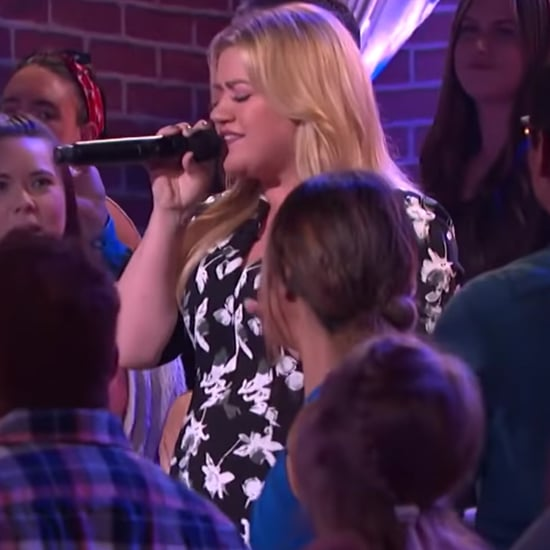 """Kelly Clarkson Singing """"Ain't No Other Man"""" Video"""