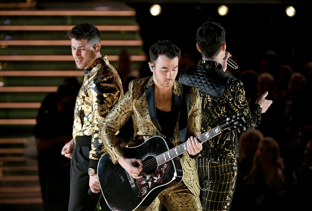 Pictures of the Jonas Brothers' Performance at the Grammys