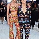 Stella Maxwell and Jeremy Scott